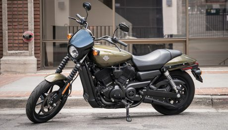 TheHarley Davidson Street 500 is the best beginner motorcycle