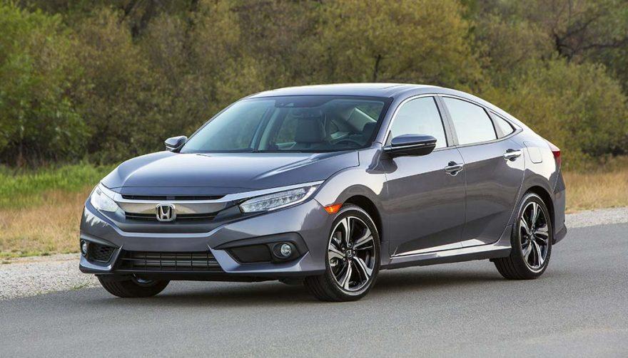The 2017 Honda Civic sedan