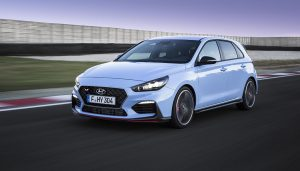 The new Hyundai i30N hot hatch
