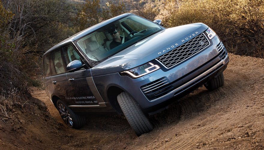 The Land Rover Range Rover is one of the best luxury off road SUVs
