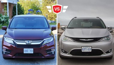 The Chrysler Pacifica vs Honda Odyssey