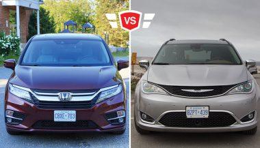 The Chrysler Pacifica vs Honda Odyssey