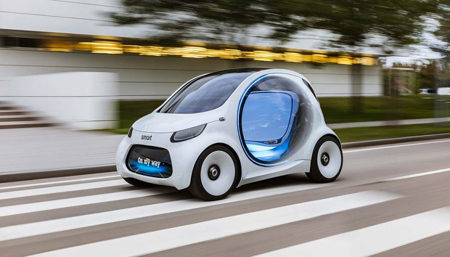 The Smart Vision EQ fortwo concept