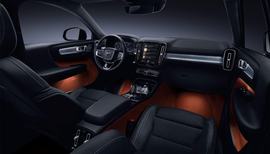 2018 volvo 880. simple volvo the interior of the all new volvo xc40 and 2018 volvo 880
