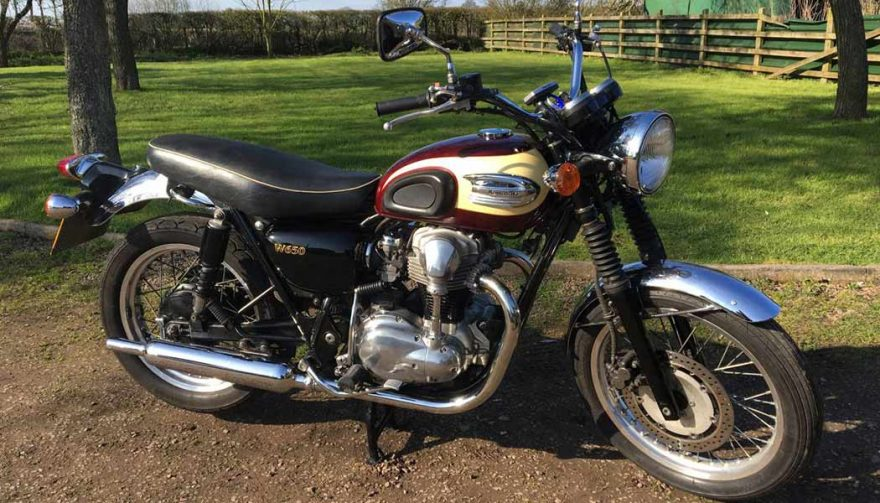 The 2001 Kawasaki W650 is one of the best used motorcycles