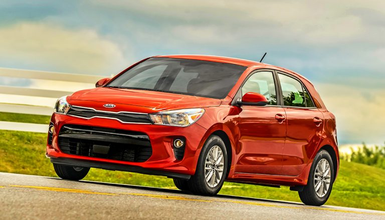 The 2018 Kia Rio hatchback