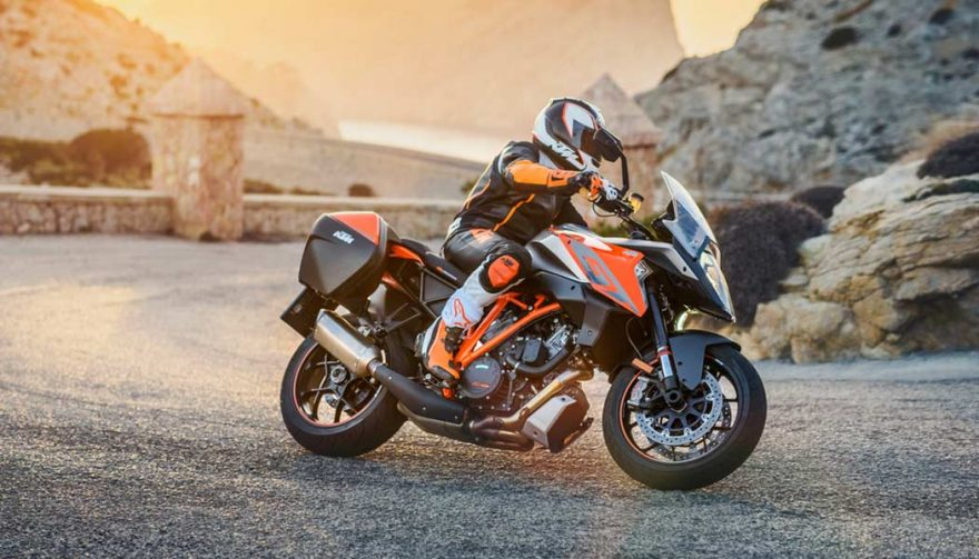 The KTM 1290 Super Duke GT is one of the best sport touring motorcycles