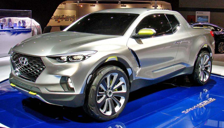 The 2018 Hyundai Santa Cruz is one of the new trucks coming next year