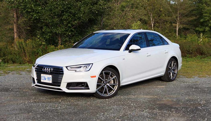 The 2017 Audi A4