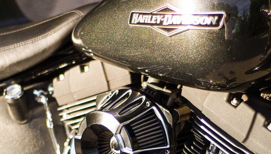 harley davidson paint on gas tank