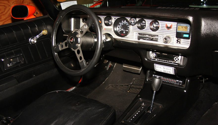 Interior of 1976 pontiac trans am