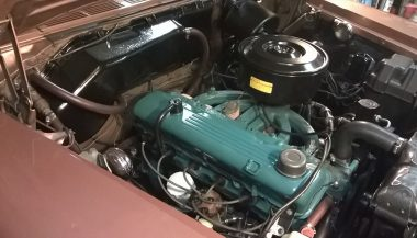 plymouth savoy engine bay