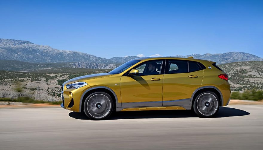 All-new BMW X2