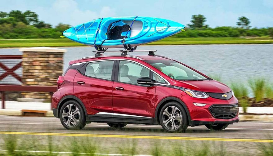 The Chevrolet Bolt is one of the best family cars