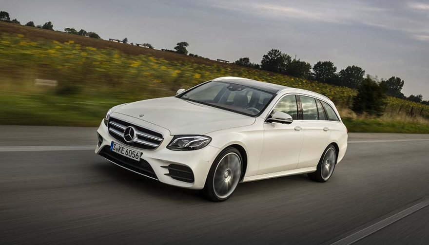 The Mercedes-Benz E400 Wagon is one of the best family cars