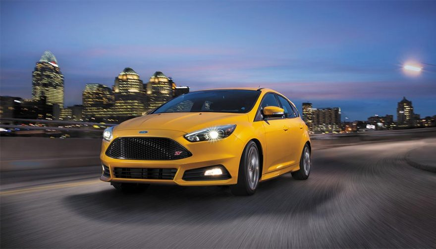 The 2016 Ford Focus ST