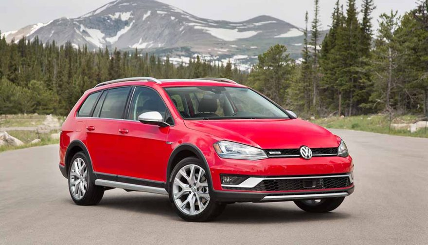 The Volkswagen Golf Alltrack is one of the best winter cars