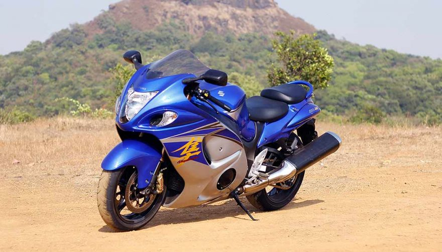 The Suzuki Hayabusa is one of the best sport touring motorcycles