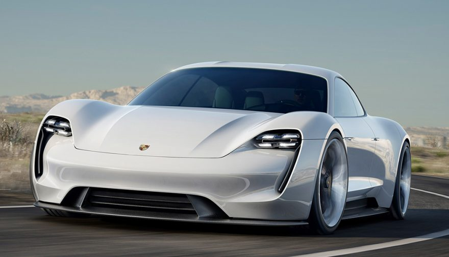 The Mission E is a Porsche electric car