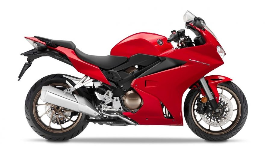 The Honda VFR800 is one of the best sport touring motorcycles