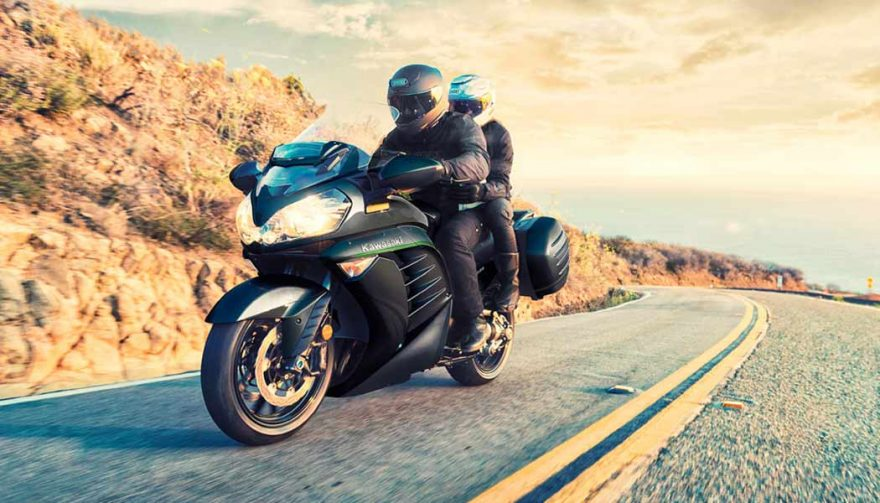 The Kawasaki Concours 14 is one of the best sport touring motorcycles