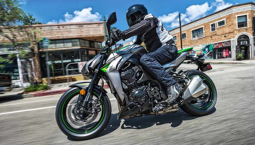 The Kawasaki Z1000 is one of the best sport touring motorcycles