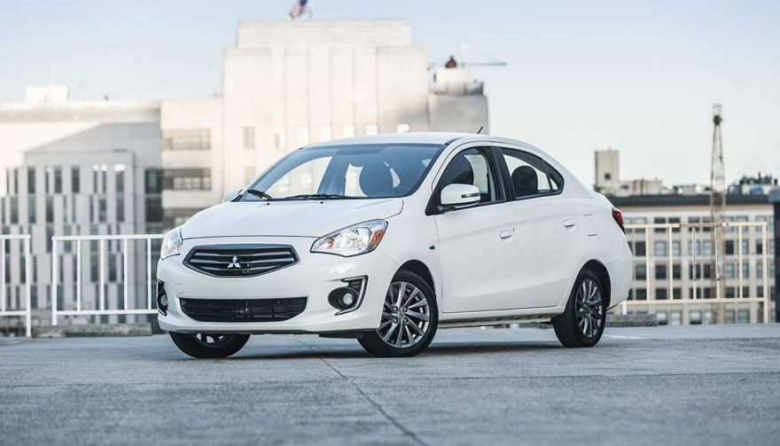 The Mitsubishi Mirage G4 is one of the best family cars