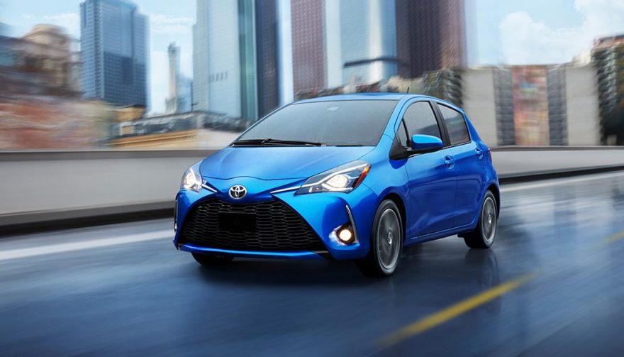 The 2018 Toyota Yaris is one of the best winter cars