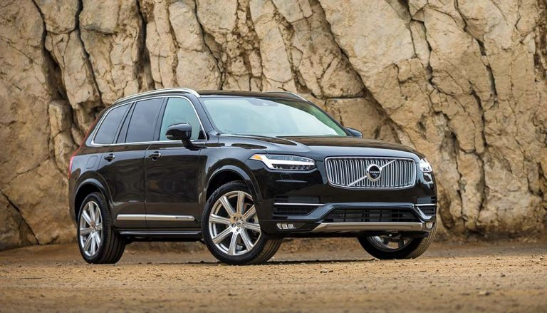The 2018 XC90 Volvo SUV