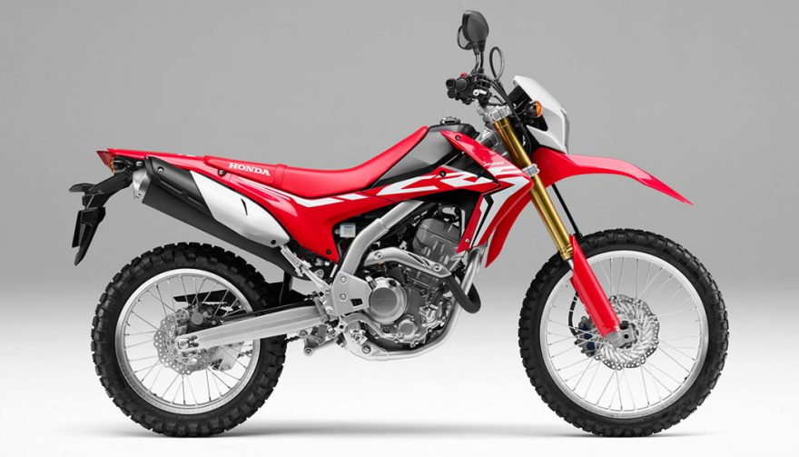 The 2017 Honda CRF250 is one of the best dual sport motorcycles