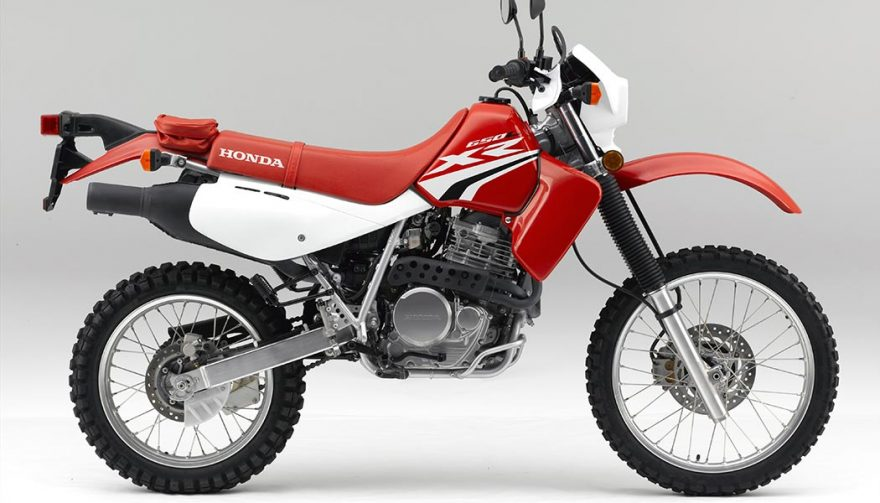 The 2017 Honda XR650L is one of the best dual sport motorcycles
