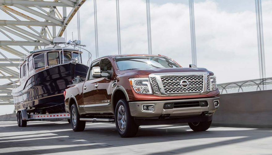 The Nissan Titan XD Platinum Reserve could be considered the best luxury truck