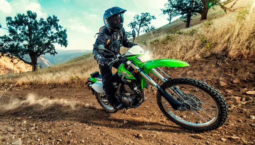The 2018 Kawasaki KLX 250 is one of the best dual sport motorcycles