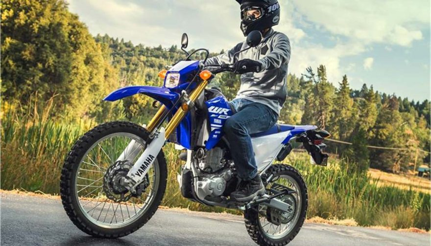 The 2018 Yamaha WR250R is one of the best dual sport motorcycles