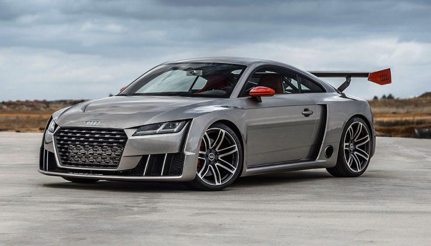 The Audi TT Clubsport at SEMA