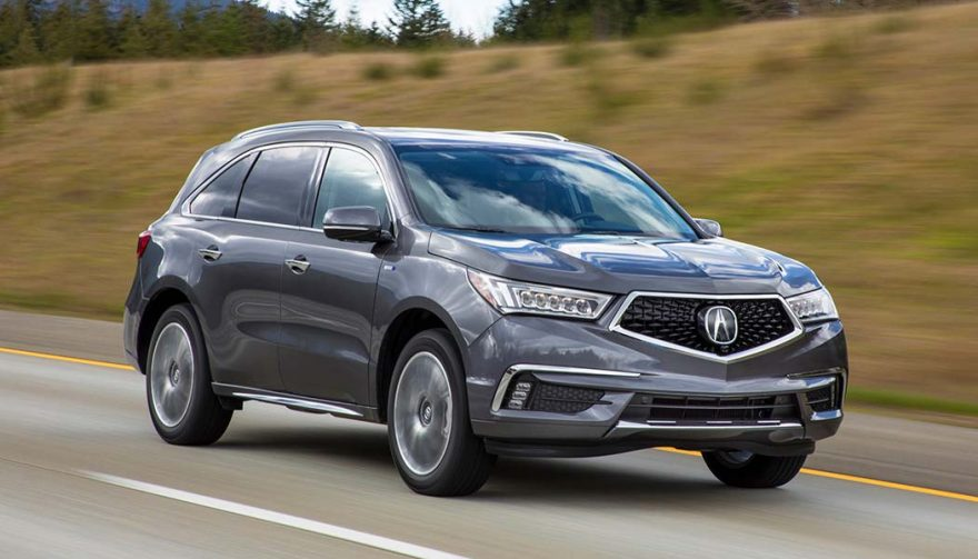 acura mdx sport hybrid small car mileage in a 3 row suv that scoots. Black Bedroom Furniture Sets. Home Design Ideas