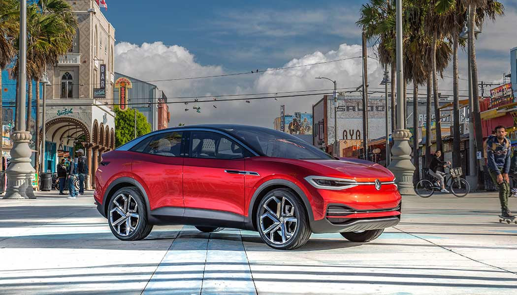 Volkswagen Electric SUV: VW Reveals All-Electric ID Crozz ...
