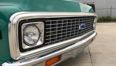 71 Chevrolet C10 Front End Grille