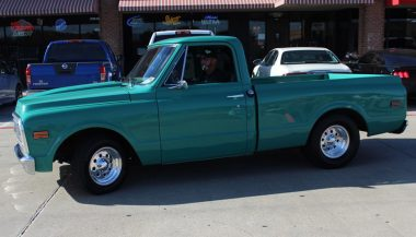 Side View of 1971 Chevy C10