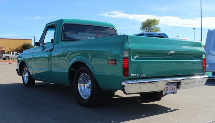 1971 Chevy C10 Rear 3/4