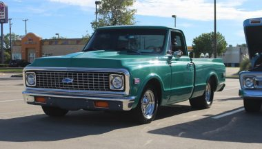 1971 Chevy C10 front 3/4