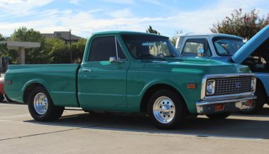 Car Meet Blue Chevrolet C10