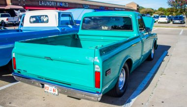 Light Blue Chevrolet C10