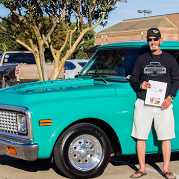 jackie h with his chevrolet C10