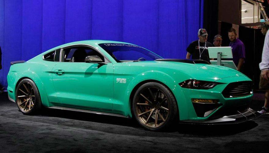 The Roush Mustang 729 at SEMA