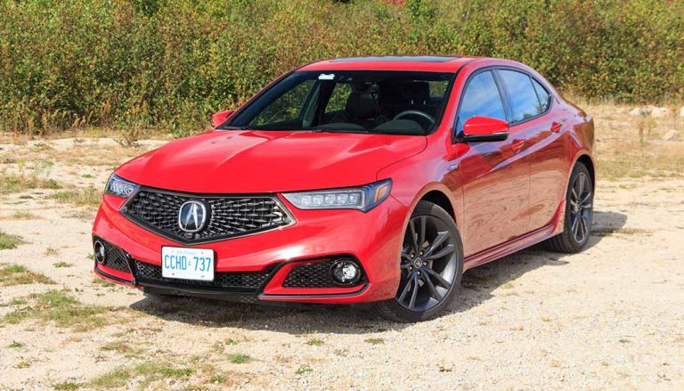 The 2018 Acura TLX A-Spec