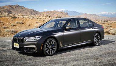 The 2018 BMW M760Li