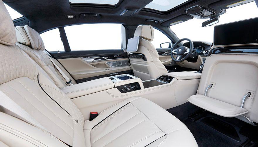 2018 BMW m760li xdrive interior