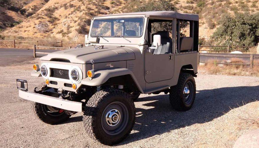 SEMA cars included the Icon 4x4 FJ