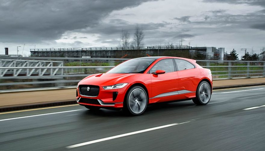 The 2018 Jaguar I-Pace is one of the best hybrid sports cars